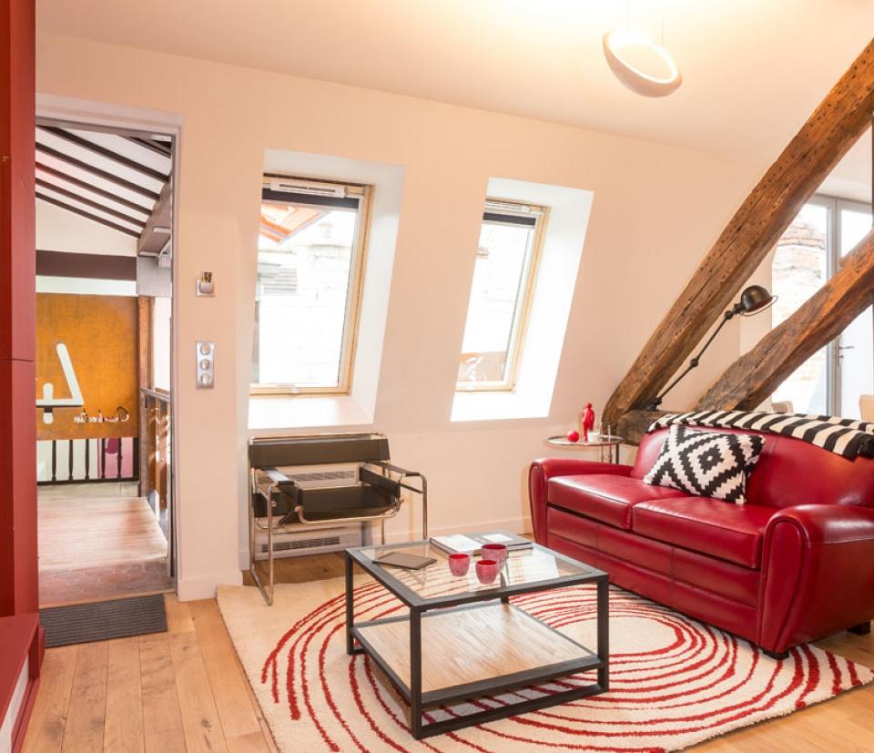 chambertin appartement louer pour s jour dijon. Black Bedroom Furniture Sets. Home Design Ideas