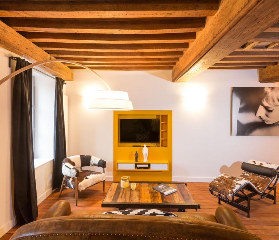 apartment moutarde dijon la belle adresse. Black Bedroom Furniture Sets. Home Design Ideas