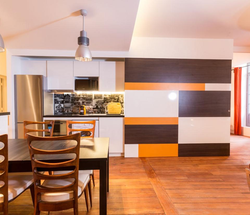 pain d pices appartement louer pour le week end dijon la belle adresse. Black Bedroom Furniture Sets. Home Design Ideas